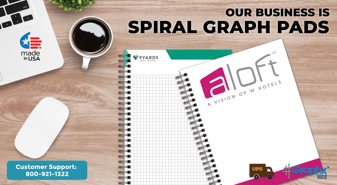 Personalized Spiral Graph Pads