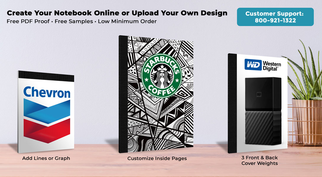 Custom Notebook with Cover