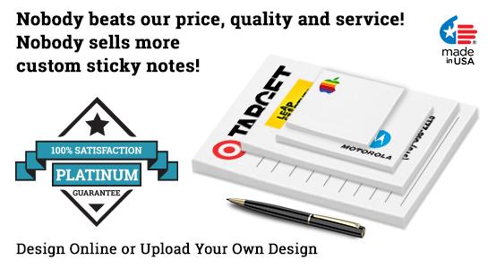 custom sticky notes