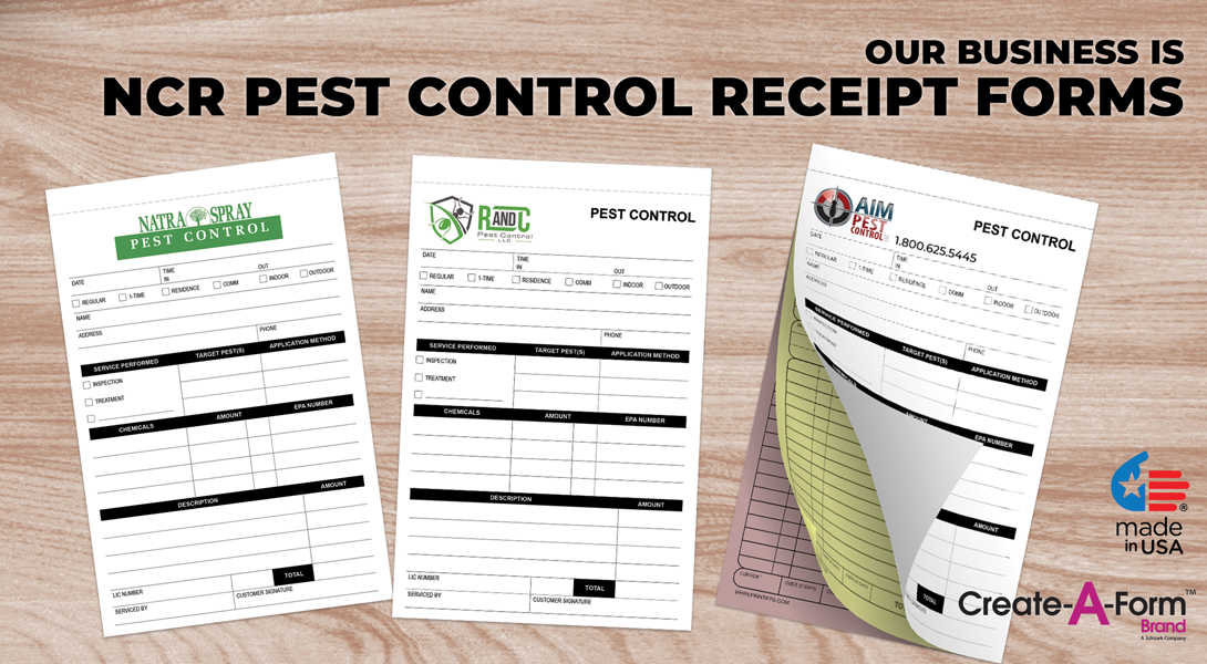 Pest Control Business Forms