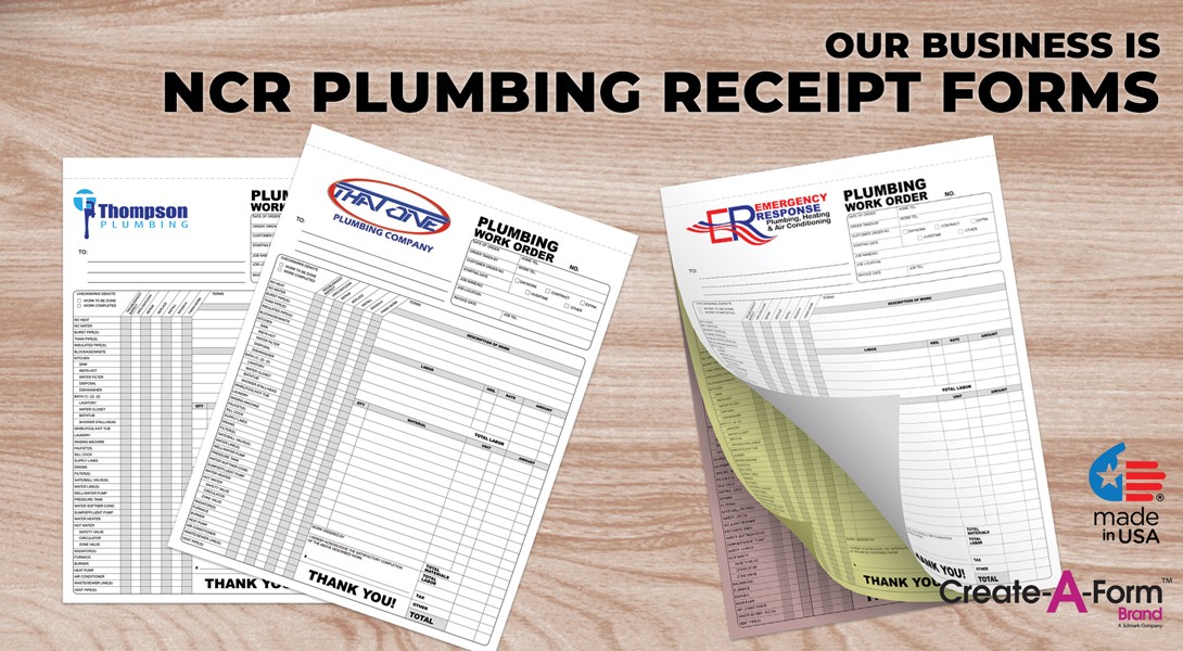plumber invoice forms