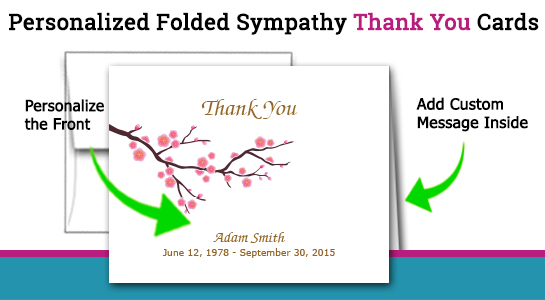 thank you for your sympathy cards