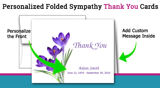 thank you for sympathy cards