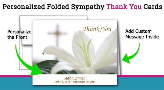 thank you note after funeral