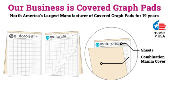 Covered graph pads