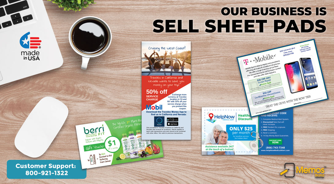 customized selling sheets
