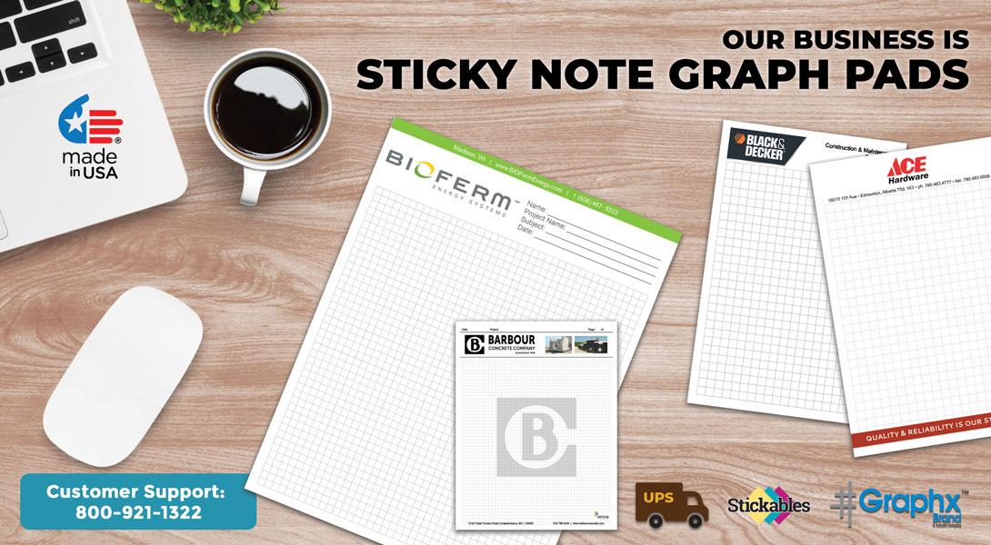Quad Pad Sticky Notes