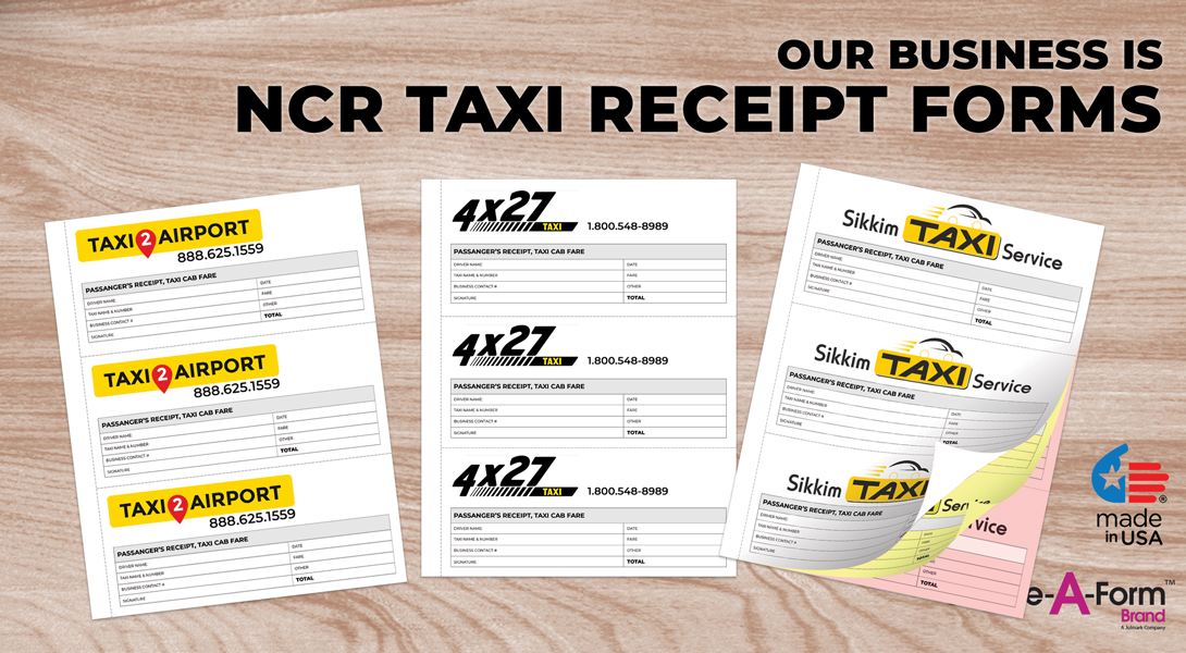 Taxi Business Forms