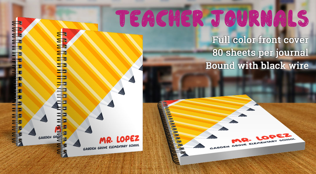Teacher gift journal