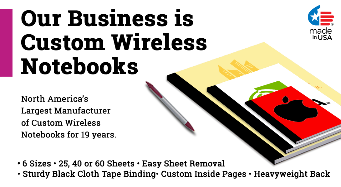 Custom Wireless notebooks