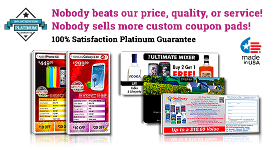 small coupon printing