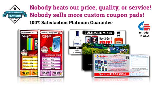 customizable coupons