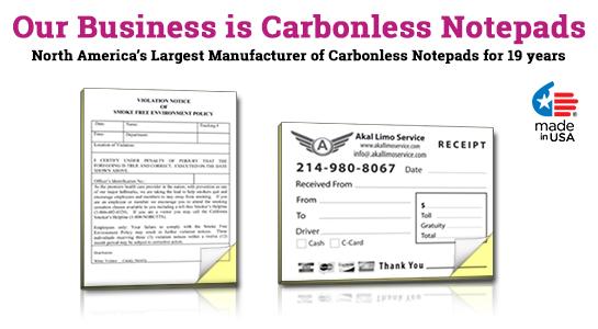 carbon paper pad