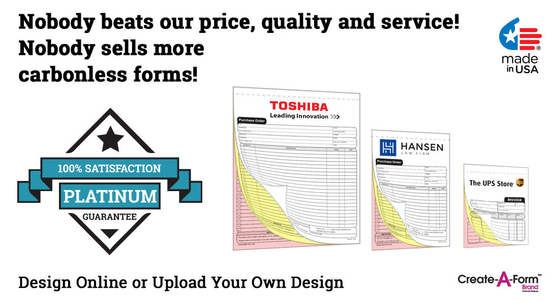 carbonless purchase order forms