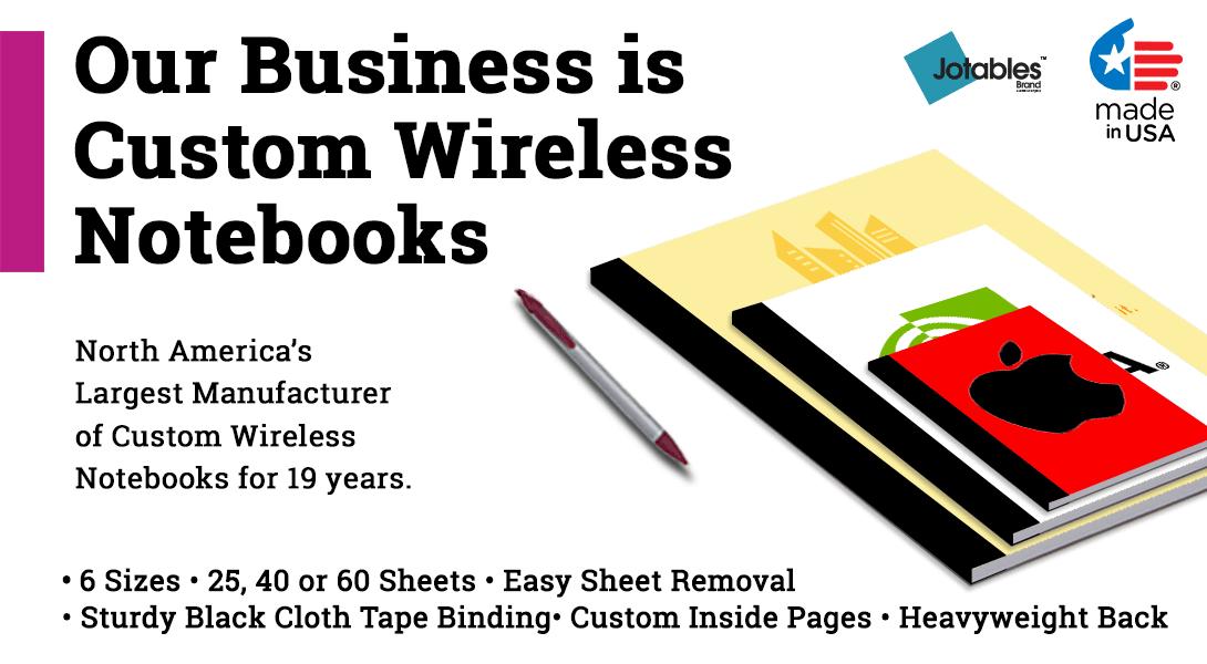 Custom Wireless notebooks
