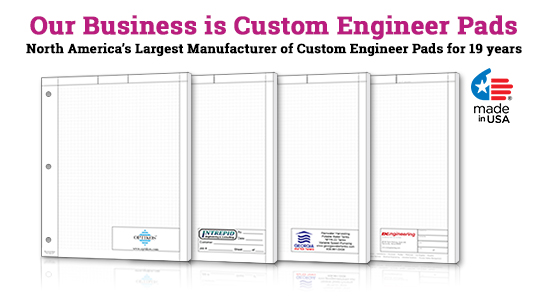 Engineer Graph Paper Pads – Engineering Graph Paper Template
