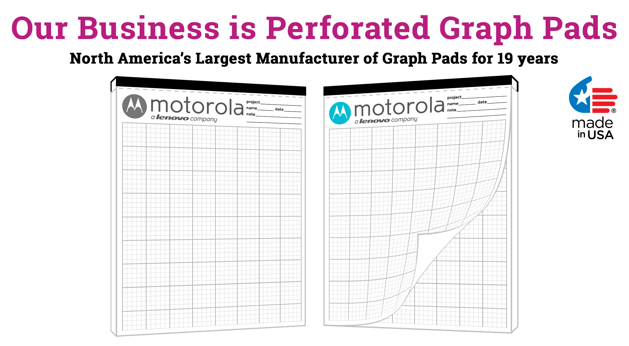 Legal pad graph pads