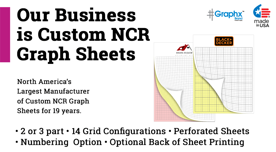 carbonless NCR graph paper