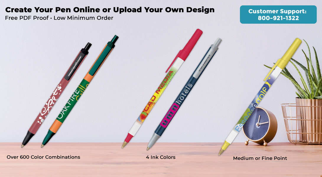 Personalized Bic Pens