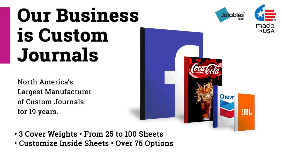 8.5 x 11 custom journal