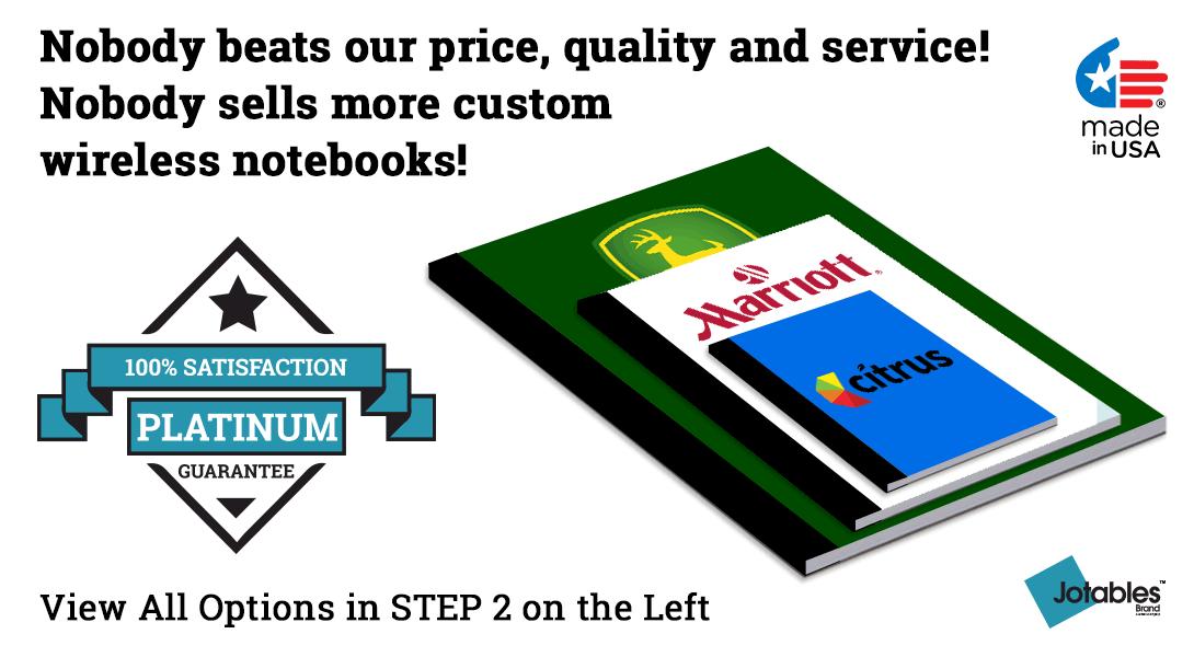 personalized Wireless notebooks